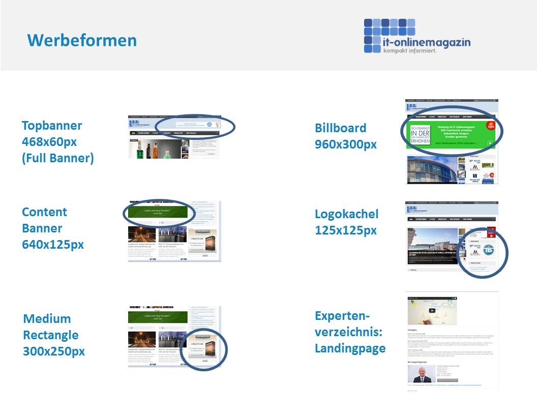 SAP Werbung ERP Banner