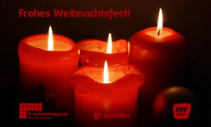 Wir wünschen Ihnen ein frohes Weihnachtsfest und besinnliche Feiertage.