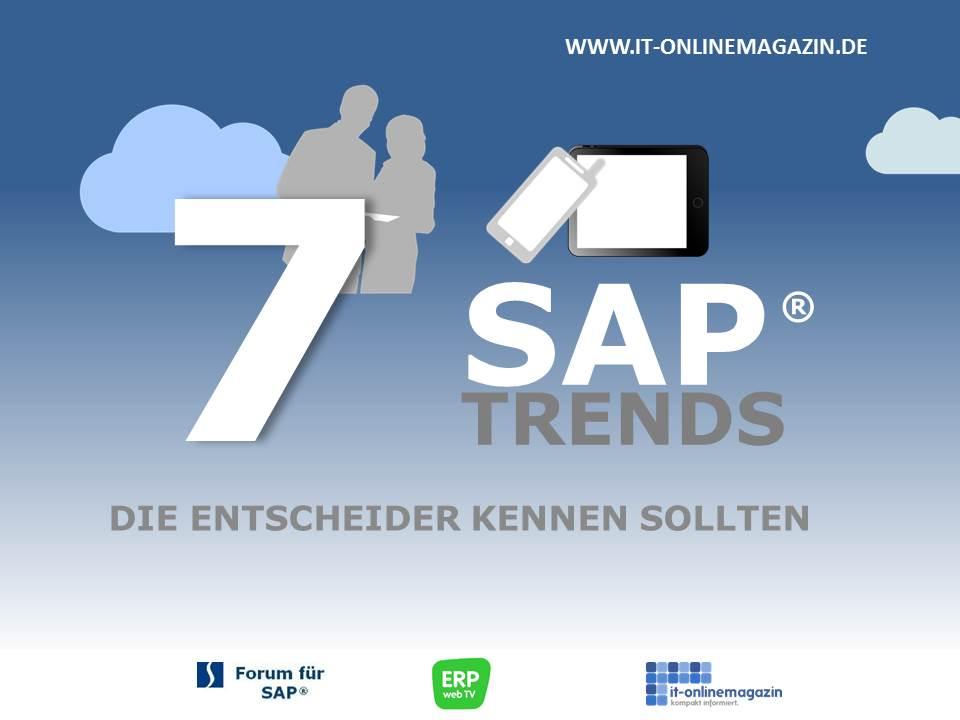 Wichtige SAP Trends 2013 die Entscheider kennen sollten