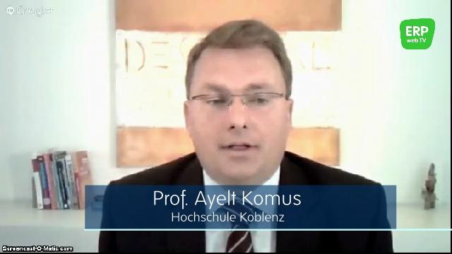 ERP web TV Expertengespräch mit Prof. Ayelt Komus