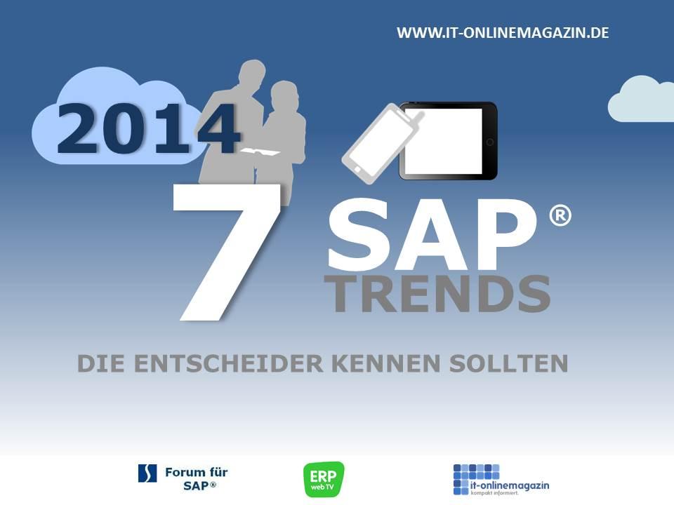 SAP Trends 2014 - die Entscheider kennen sollten