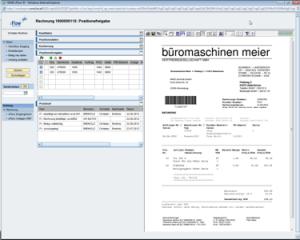 Screenshot FI Rechnungsfreigabe