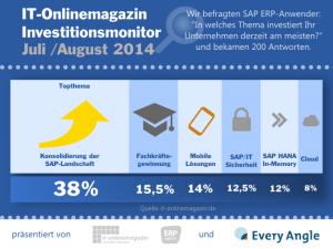 SAP Investitionsmonitor IT-Onlinemagazin 2014