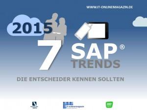 SAP Trends 2015 die Entscheider kennen sollten