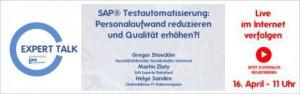 ExpertTalk SAP Testmanagement