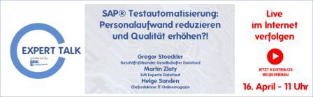 ExpertTalk SAP Testmanagement