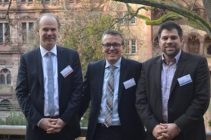 Axel Mattern (IA4SP), Sven Lange (SAP), Frank Bayer (IA4SP) (v.l.n.r.)