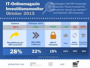 Investitionen SAP Anwender 2015