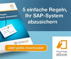 SAP System absichern Security Sicherheit