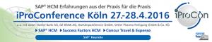 SAP HCM Konferenz 2016 Köln iProConference