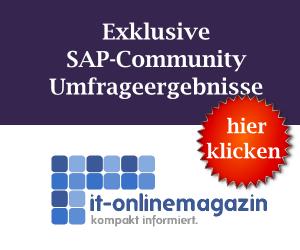 SAP-Community Umfrageergebnisse
