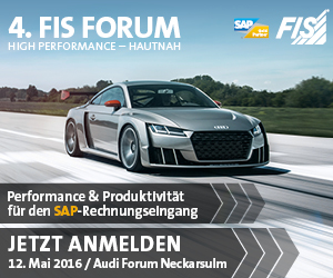 SAP FIS Forum 2016