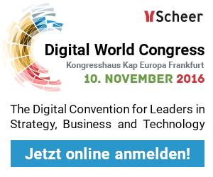 Digital World Kongress Scheer