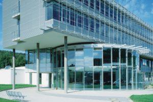 SIEGENIA-AUBI Fassade Zentrale, Ausschnitt