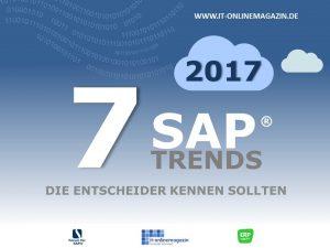 SAP Trends 2017 die Entscheider kennen sollten