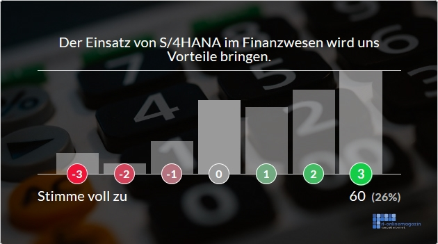 Bewertung SAP S4HANA Finanzwesen Finance