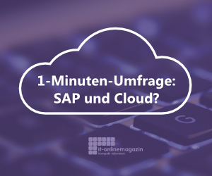 SAP Cloud Umfrage 2018