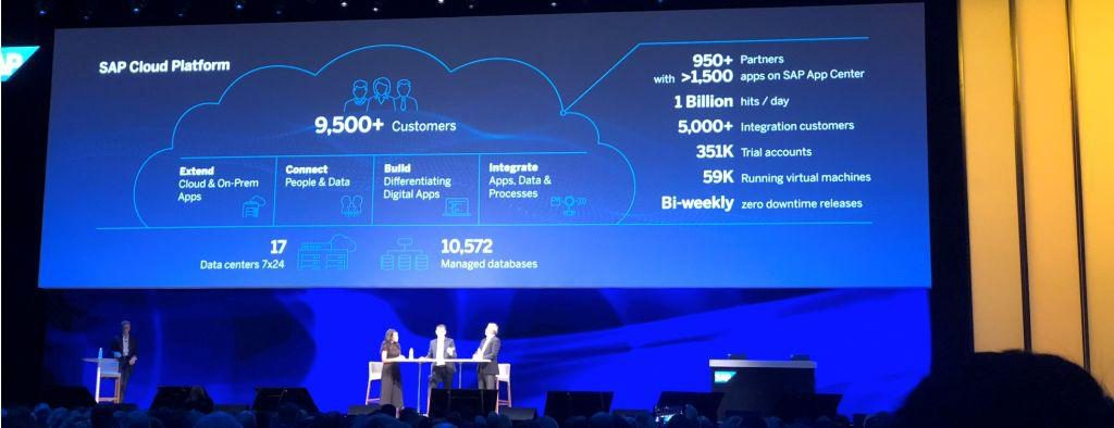 SAP Cloud Platform SAPPHIRE 2018