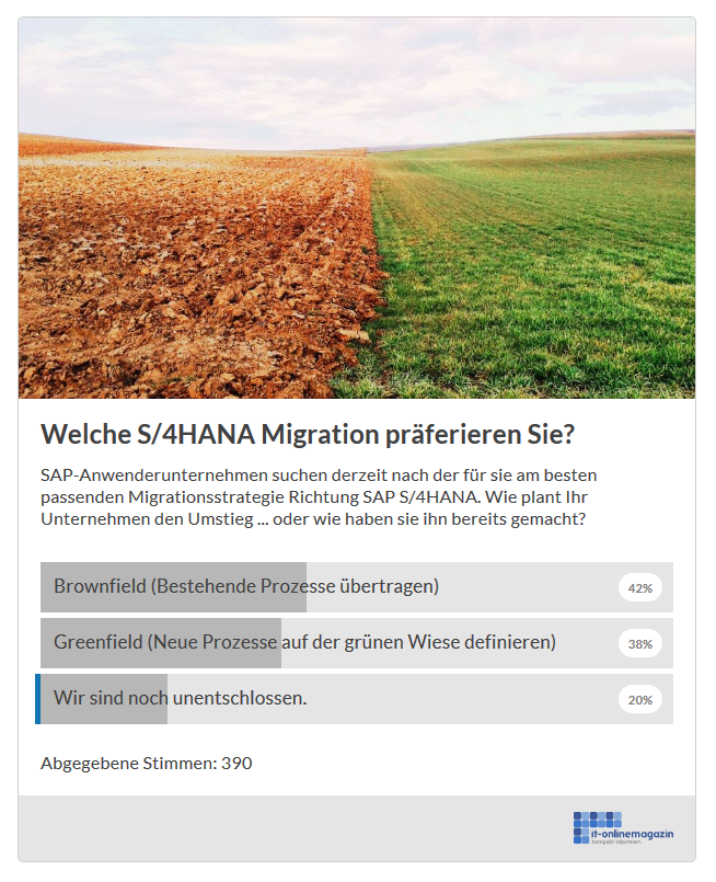 Brownfield Greenfield SAP S4HANA Migration Sep18