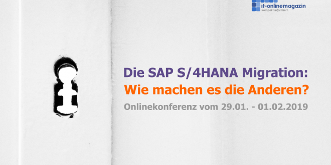 SAP S/4HANA Onlinekonferenz 2019