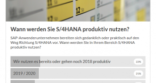 S/4HANA Umstieg Zeitplan