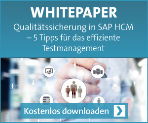 SAP HCM Testmanagement