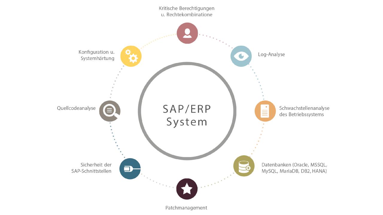 SAP Prüfbereiche