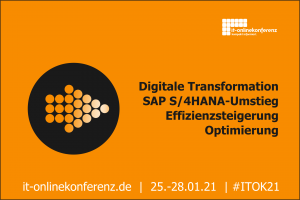ITOK21 IT-Onlinekonferenz 2021