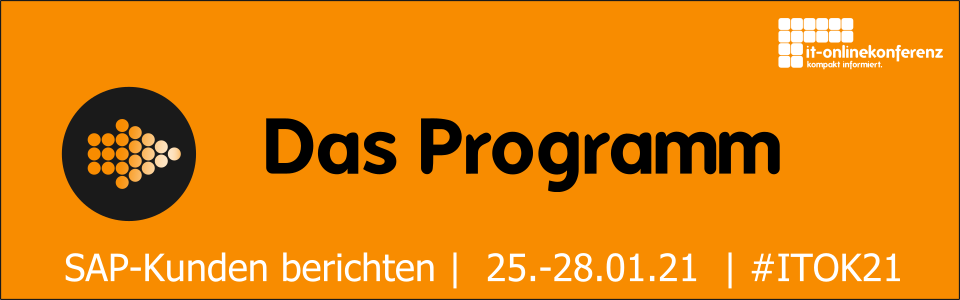 ITOK21 Programm IT-Onlinekonferenz 2021
