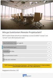 Remote-Projekte-SAP
