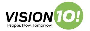 Vision10! Logo
